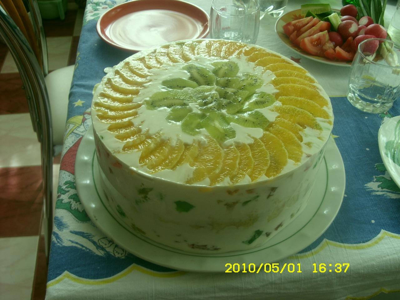Желейный торт вкусные тортики